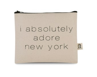 i absolutely adore new york pouch