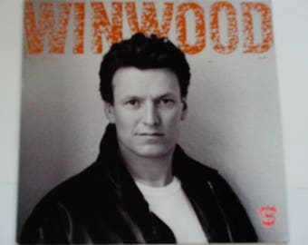"""Steve Winwood - Roll With It - """"Put On Your Dancing Shoes"""" - Blue-eyed Soul  Blues Rock - Virgin Records 1988 - Vintage Vinyl  Record Album"""