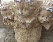 Cherub Angel Plaster Planter