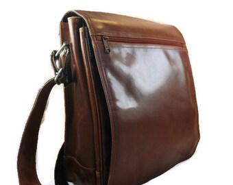 SALE!!   Leather Camera Bag  Leather Messenger DSLR Bag     Padded Bag