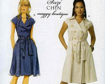 Butterick B5598 Dress BB (8-10-12-14)