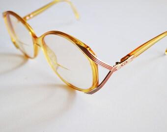 vintage Christian Dior eye glasses