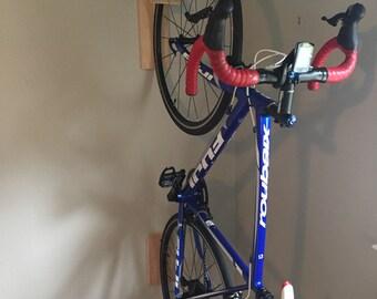 The C-Ville Bike Hook // Bike Rack // Reclaimed Wood