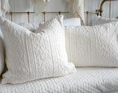Custom Order For Becca Only ~ Vintage Coverlet Pillows