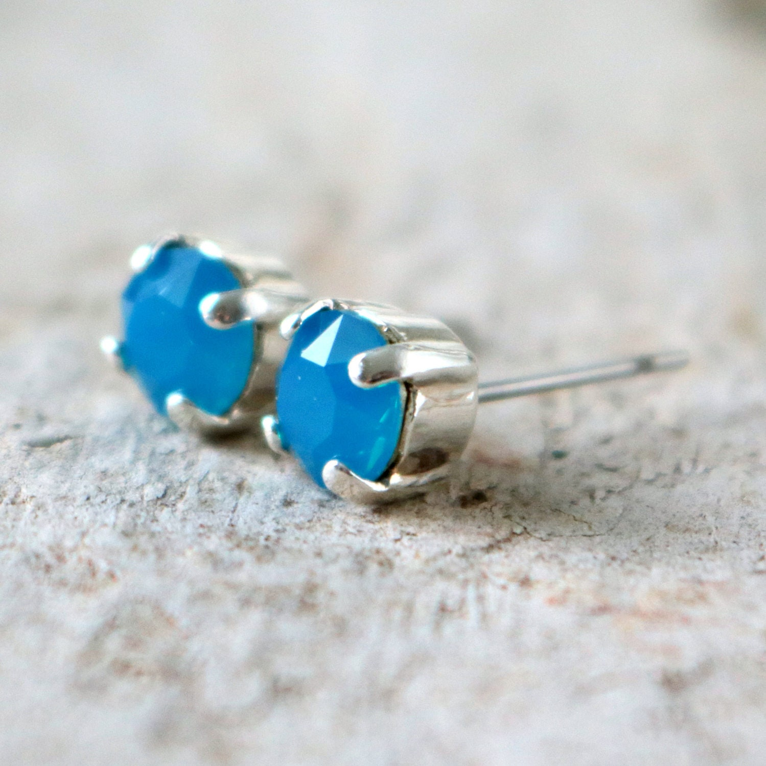 glass lake aqua il stud sea beach p earrings dainty studs erie fullxfull pvug gift blue