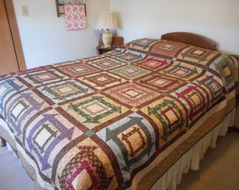 Double Monkey Wrench Quilt