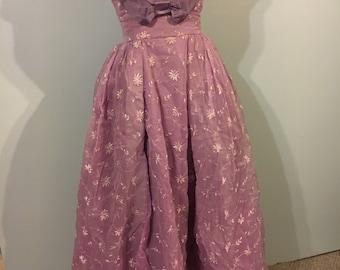 1940s cinderella ball gown