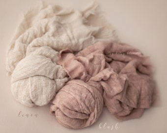 NEW Cozy Knit Layers, Newborn Fabric Layer, Soft Textured Layer/Wrap, Long Baby Wrap, Newborn Layering Fabric, RTS