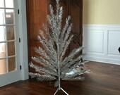 Vintage • Aluminum • Christmas Tree • 6 ft