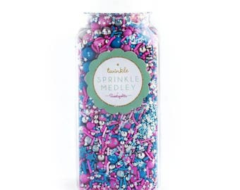 Sweetapolita Twinkle Sprinkles- Cosmic Crush 3.5oz. & 7 oz.