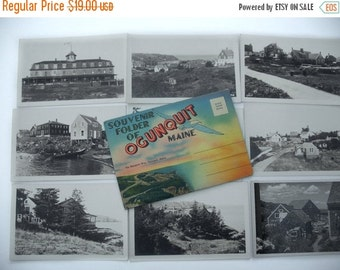 ON SALE Postcard Collection Ogunquit Maine Black & white, colored pictures Unused