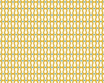 Unforgettable Wallpapers in Yellow My Mind's Eye - 1 Yard Cut