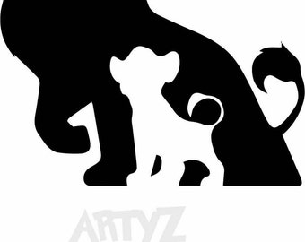 Lion king clipart – Etsy