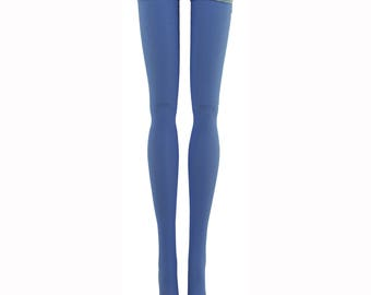 Doll Stockings For Ever After High - Periwinkle Solid - Doll Clothes