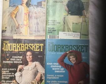 Vintage The Workbasket magazines