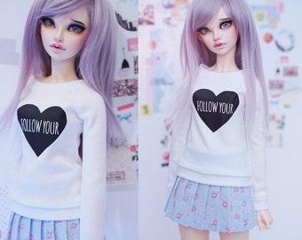 Slim MSD Minifee or SD BJD Sweater - Follow your heart