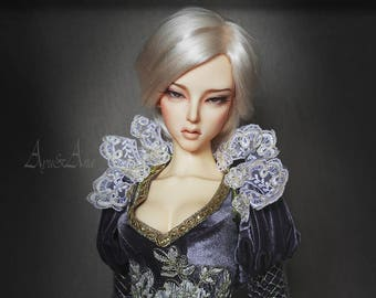La Reine D'Argent OOAK handmade dress set for bjd dollfie sd16 soom supergem zenith clothing clothes historical fantasy victorian style