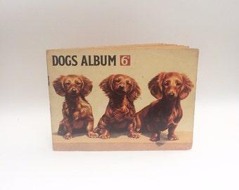 Dogs album, Complete set of Hornimans Tea Cards - S.Dangerfield
