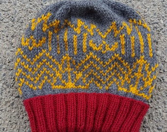 Potter Deco -- Handknit Harry Potter Beanie -- Made to Order