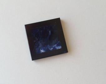 Sodalite Blue and Black Onyx Mosaic Inlay Stones 16mm