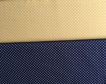 Sevenberry polka dot cotton cut to order in multiples of Fat Quarter Metres (50x55cm) or Half Metres (50x110cm)