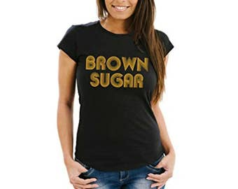Ladies Fitted Tee | Brown Sugar T-shirt