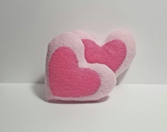 Hand-Made Heart Catnip Filled Cat Toy