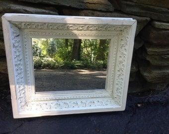 Petite Mirror in Antique Frame