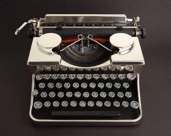 Typewriter, Royal Chrome Plated 1930s
