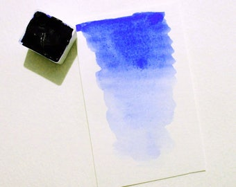 Ultramarine Blue - Handmade Watercolor Paint - Art Supply - Artist Gift - Art Paint - Handcrafted Professional Watercolour