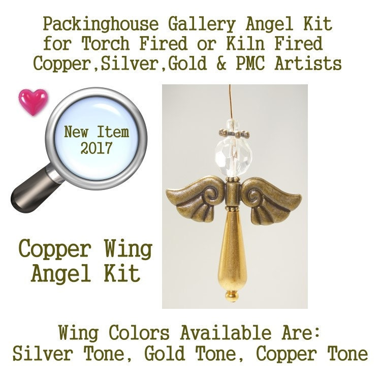Angel Kit (Copper Wing Color) use it as Angel Necklace, Angel Ornament, Car Angel, Angel Christmas Ornament, Angel Fan Pull, Angel Phone