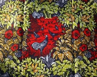 African Ankara Super Wax Print Fabrics For Sewing, Fabrics For Dress Making Kitenge/Pagnes/Tissues Africain/Chitenge/Ankara Sold By Yard