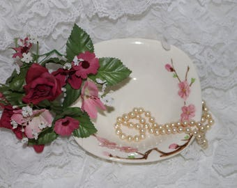 Vintage Metlox Poppy Trail Peach Blossom - Soup/Cereal Bowl - Excellent Condition - Made in California - 1952 to 1962