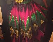 Peacock Maxi Skirt
