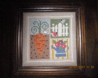 Carrot Patch Linen Wall Hanging
