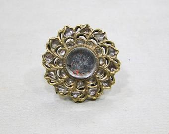 Rare!! Vintage antique 20 carat Gold finger Ring Arsi Rajasthan India