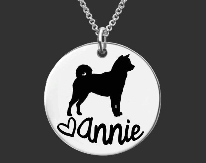 Shiba Inu Necklace | Shiba Inu Jewelry | Personalized Dog Necklace | Personalized Gifts | Korena Loves
