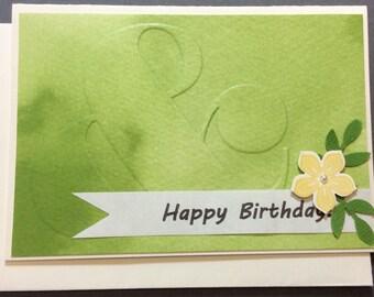 Birthday, Friend, Flower