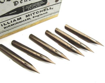 vintage pen nibs England 6