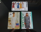 Three Butterick Plus Size 16 - 22 Dress and Suit Patterns - #3164 #3828 #5242 - Uncut Unused Patterns -  3 Patterns for the Price of 1