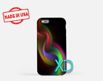 Braid iPhone Case, Rainbow iPhone Case, Braid iPhone 8 Case, iPhone 6s Case, iPhone 7 Case, Phone Case, iPhone X Case, SE Case Protective