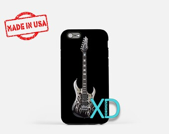 Guitar iPhone Case, Artistic Guitar iPhone Case, Guitar iPhone 8 Case, iPhone 6s Case, iPhone 7 Case, Phone Case, iPhone X Case, SE Case