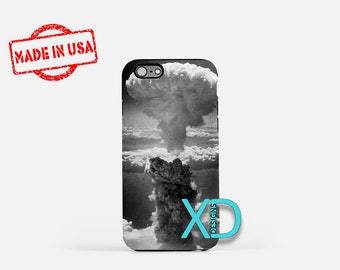 Atomic Bomb Explosion iPhone Case, Atomic Bomb Explosion iPhone 8 Case, iPhone 6s Case, iPhone 7 Case, Phone Case, iPhone X Case, SE Case