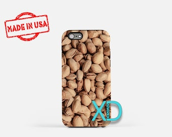 Pistachio iPhone Case, Food iPhone Case, Pistachio iPhone 8 Case, iPhone 6s Case, iPhone 7 Case, Phone Case, iPhone X Case, SE Case