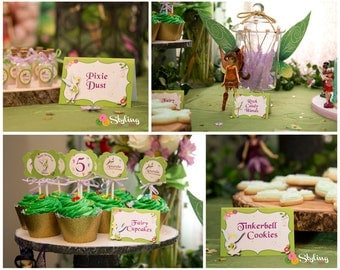 Tinkerbell Inspired Food Labels