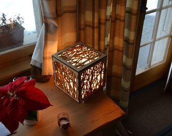 Wooden Decorative Lamp