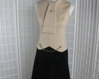 1960s Double Knit Dress by David Warren......  size Medium