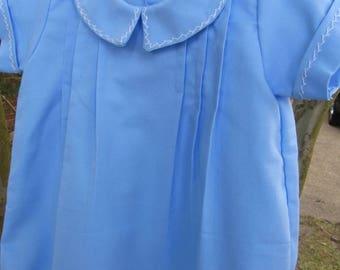 Baby boy bubble in light blue