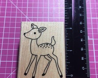 """Hero Arts wooden stamp """"Young Deer"""""""