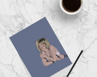 Postcard: Julia Roberts 'Vivian' Pretty Woman